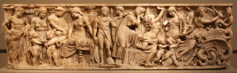 The Medea sarcophagus, Altes Museum, Berlin. Image taken from .